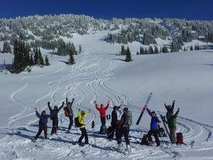 Bow Summit Ski Touring